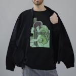 Enrico: giacca/jacket Studiopretzel, sweatshirt Studiopretzel for webelieveinstyle.maison, pantaloni/trousers vintage A.N.G.E.L.O.