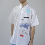 Enrico: camicia/shirt Sandro Gaeta for webelieveinstyle.maison, pantaloni/trousers vintage A.N.G.E.L.O.