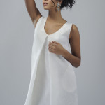 Yendry: abito/dress Albino, earring Fery by Sara Capoferri