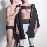 Alberto: total look Dirk Bikkembergs Couture