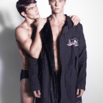 Alberto: coat A.Men, trousers Department 5
